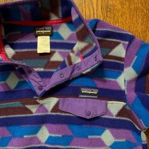 Patagonia long sleeve pullover jacket